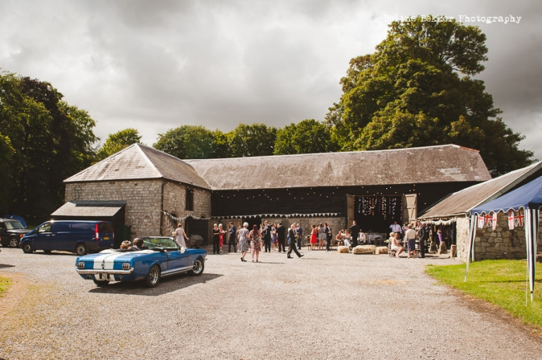 Rustic And Romantic Wick Bottom Barn Wedding