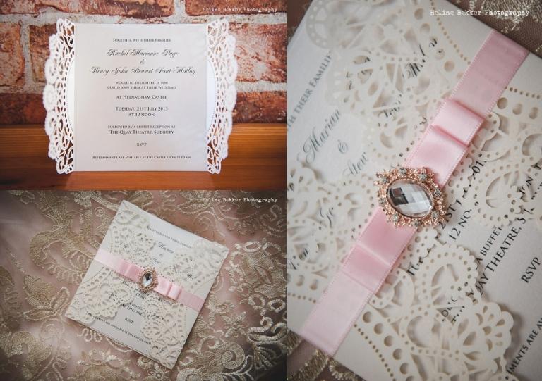 Romantic Wedding at Heddingham Castle by Heline Bekker 009