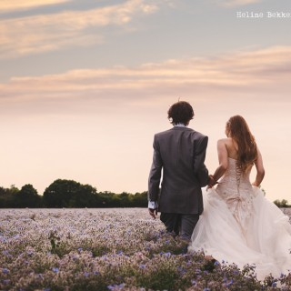 Romantic Wedding at Hedingham Castle by Heline Bekker